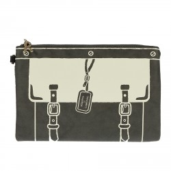 BLACK  POCHETTE GRAFIC