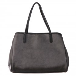 GRAFIC BLACK SHOPPING BAG