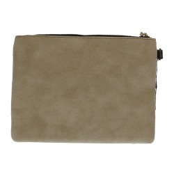 BEIGE POCHETTE GRAFIC MODEL