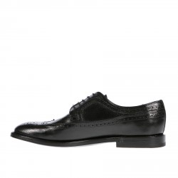 IGNIS BLACK LACE UP SHOE