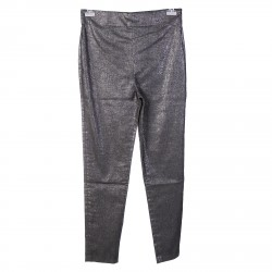 GREY AND SILVER PANTS