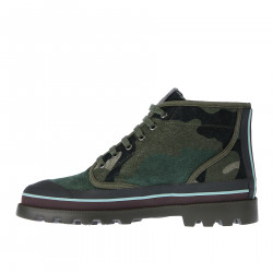HIGH TOP SNEAKER CAMOUFLAGE