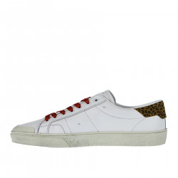SNEAKERS BIANCA IN PELLE