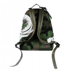 MILITARY BACKPACK WITH PANTHER PRINT