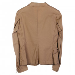 GIACCA IN COTONE BEIGE