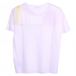 T SHIRT BIANCA CON TULLE